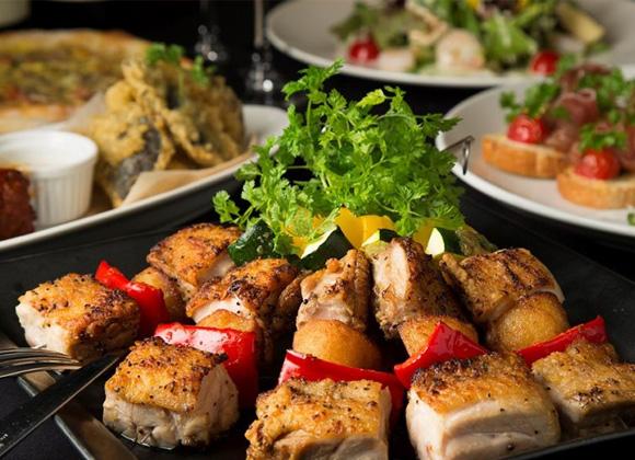 【PARTY / Aプラン】桜姫鶏をメインに旬の食材を愉しむ カジュアルパーティーコース 全8品